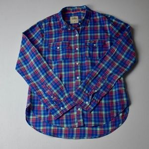 Hollister Plaid Button-Down